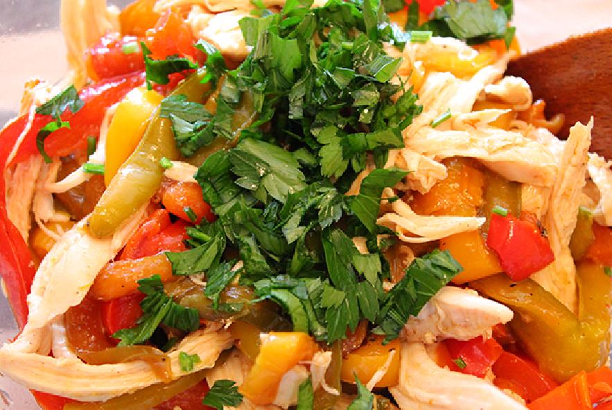 Insalata di pollo e peperoni - Step 3 - Immagine 1