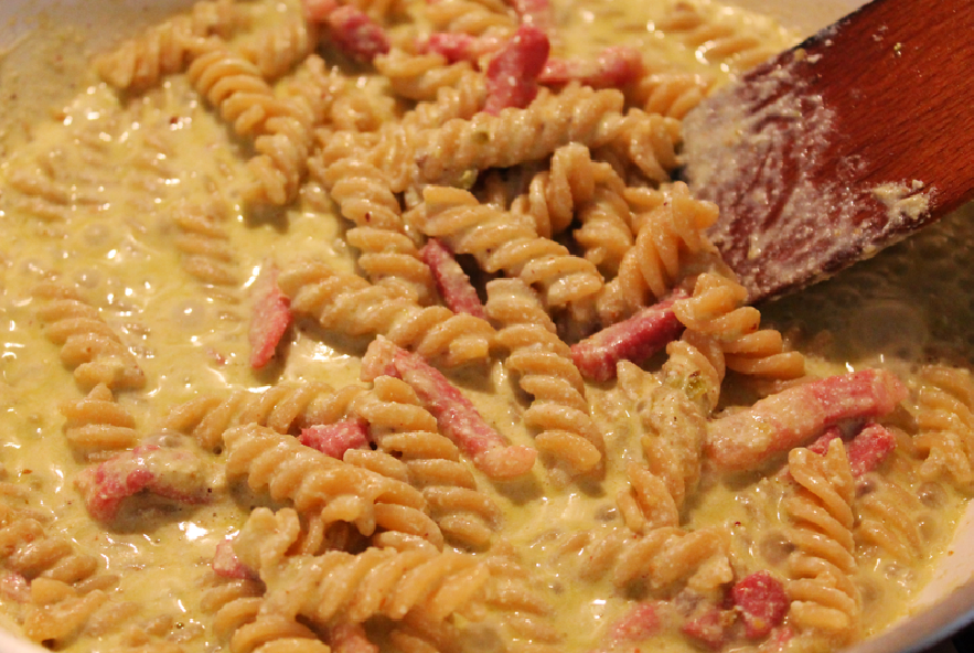 Pasta al pesto di pistacchio - Step 4 - Immagine 1