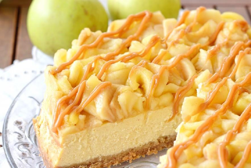 Cheesecake mele, cannella e caramello - Step 6 - Immagine 1