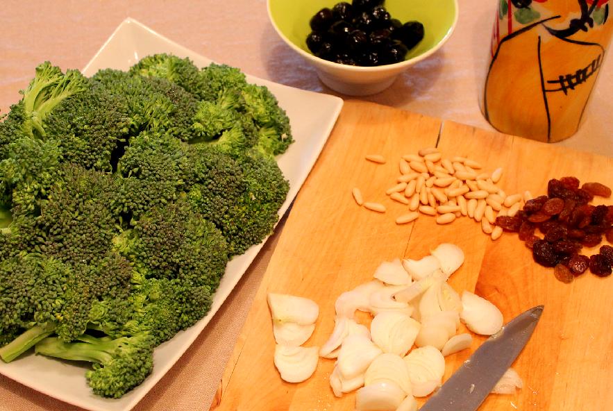 Broccoli in agrodolce alla siciliana - Step 1 - Immagine 1