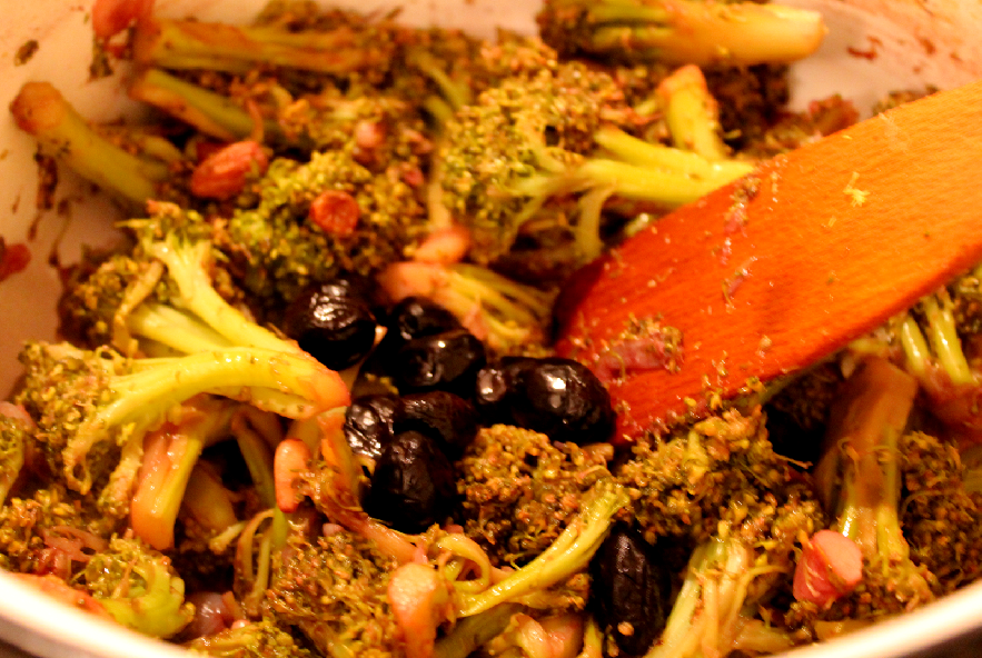 Broccoli in agrodolce alla siciliana - Step 2 - Immagine 1