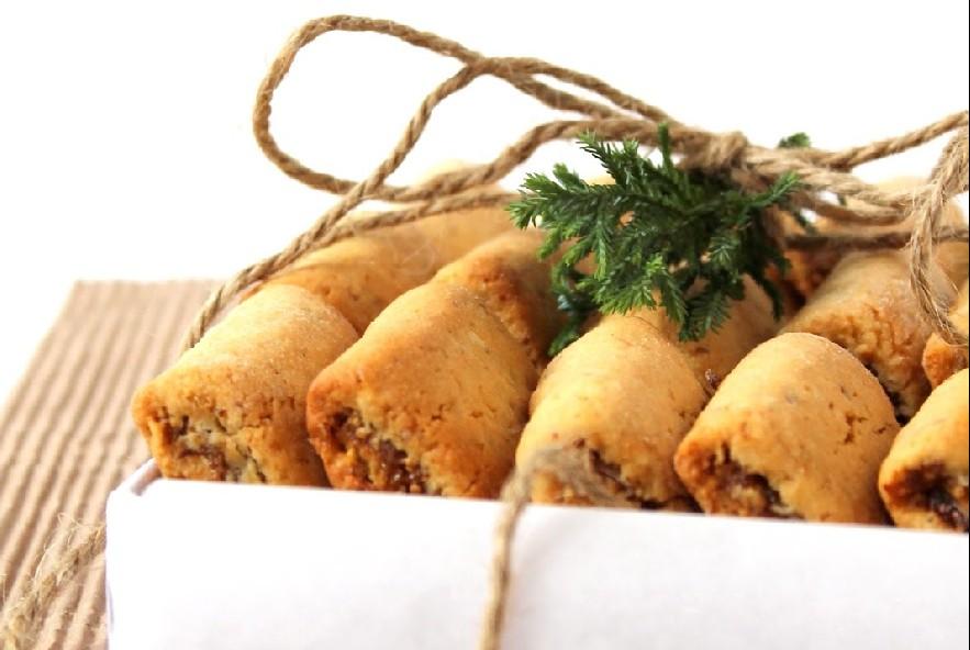 Biscotti ripieni di fichi secchi arance e cannella - Step 6 - Immagine 1