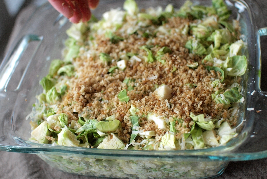 Gratin di quinoa e cavoletti di bruxelles - Step 5 - Immagine 1