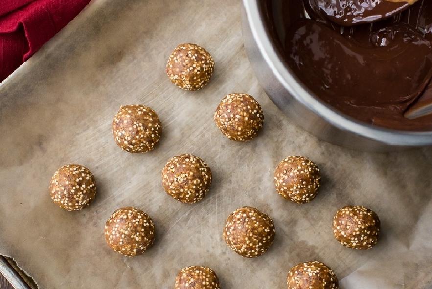 Palline di quinoa al cioccolato - Step 3 - Immagine 1