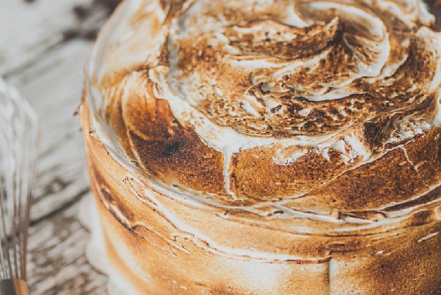 Torta con ganache al cioccolato e meringa - Step 8 - Immagine 3
