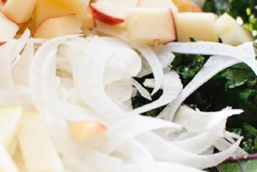 Insalata di cavoli ricci, finocchi e mele - Step 2 - Immagine 1