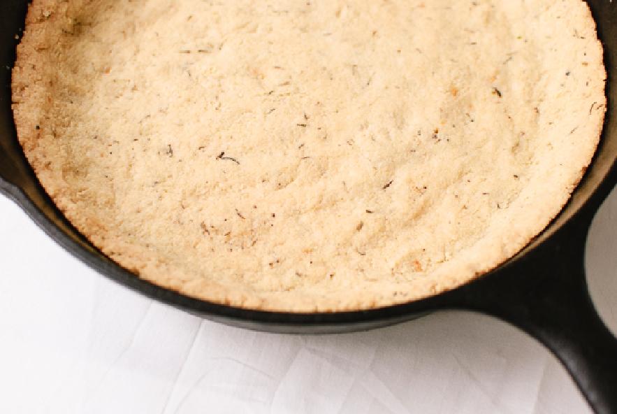 Quiche di rucola e funghi con farina di mandorle - Step 2 - Immagine 2