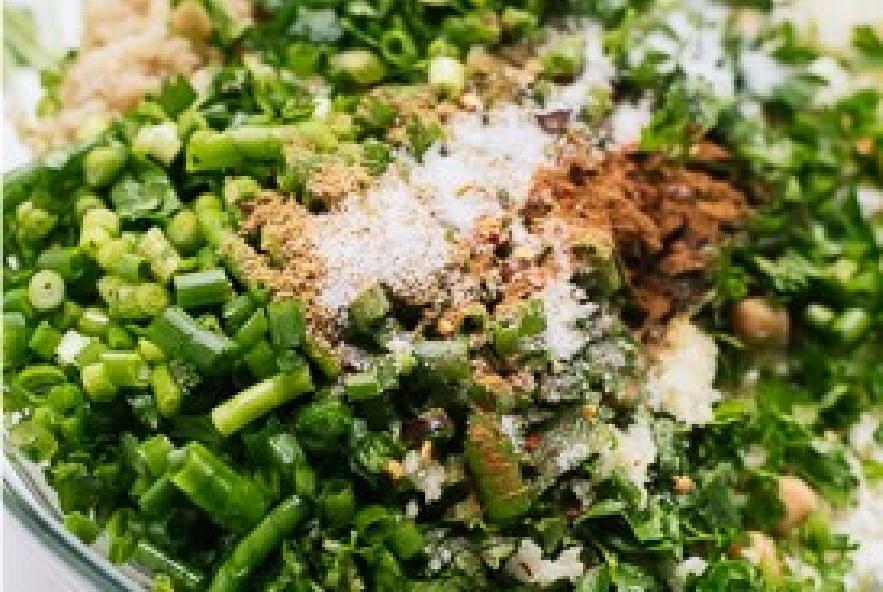 Panino vegano con falafel di cavolfiori - Step 3 - Immagine 1