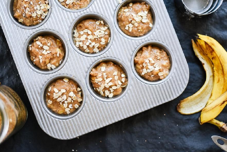 Muffin con avena e banana - Step 4 - Immagine 1