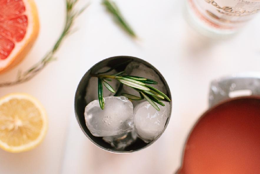 Cocktail al pompelmo rosso e rosmarino - Step 2 - Immagine 1