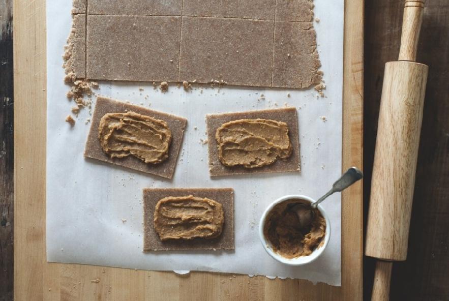 Crostatine di mele con mandorle e cannella - Step 4 - Immagine 1