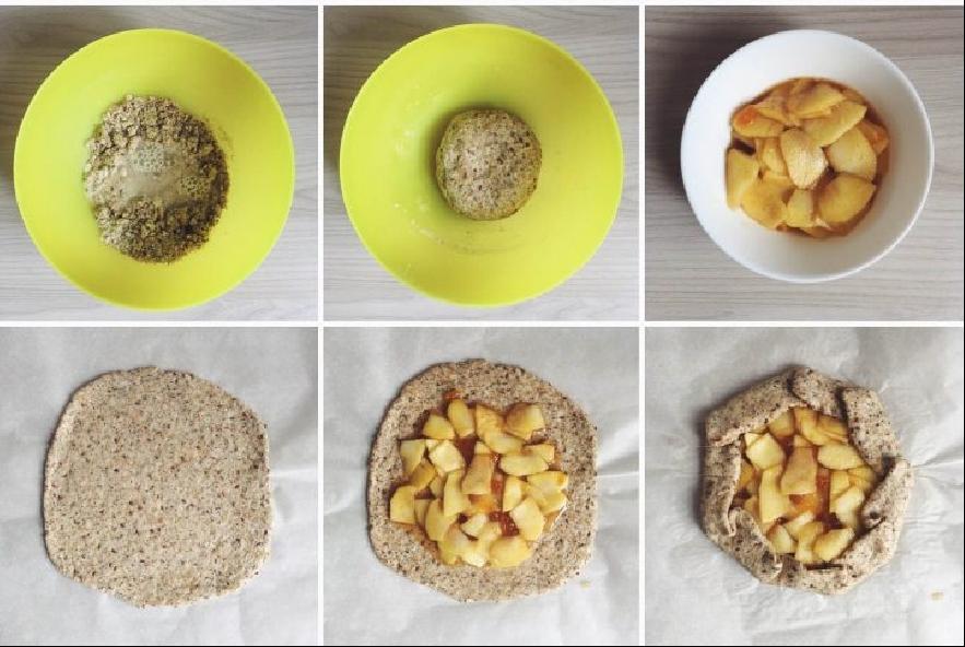 Galette rustica alle mele vegana e senza glutine - Step 5 - Immagine 1