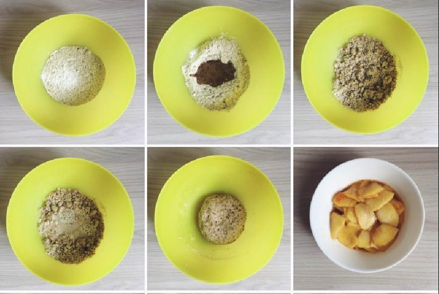 Galette rustica alle mele vegana e senza glutine - Step 4 - Immagine 1
