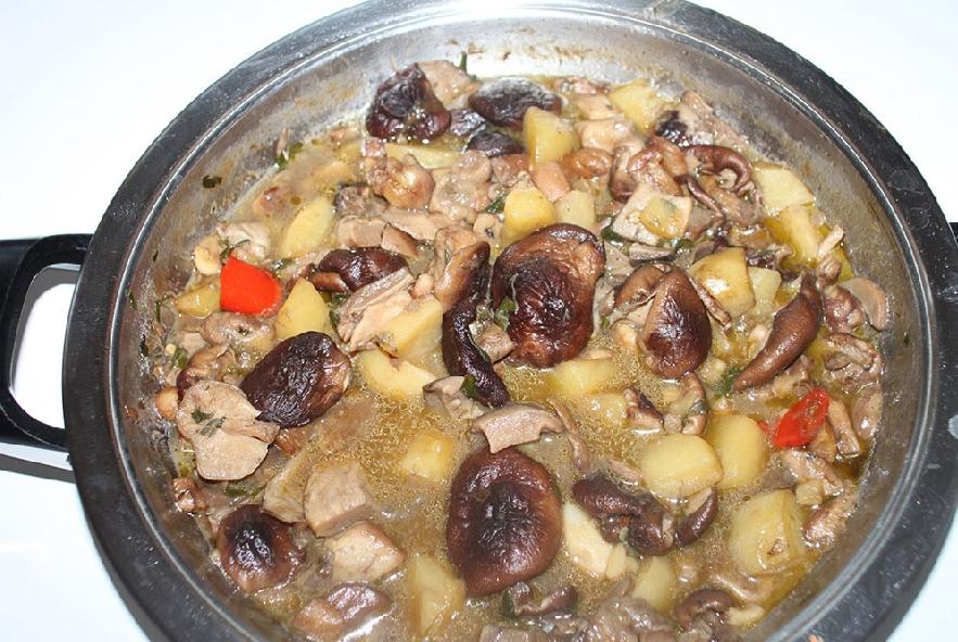 Zuppa di funghi e castagne - Step 1 - Immagine 1