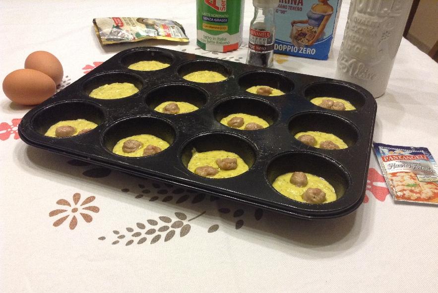 Muffin ai broccoli - Step 5 - Immagine 1