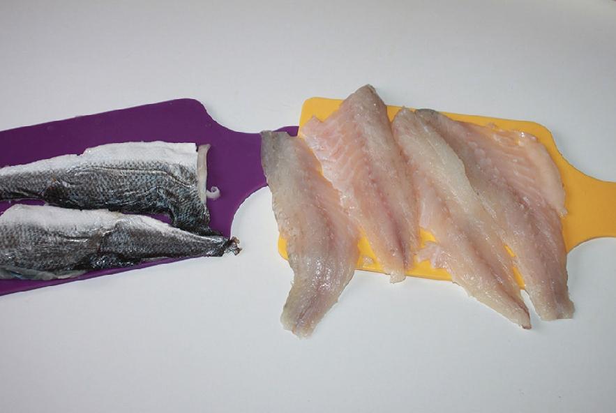 Involtini di branzino con crema di zucca e ricotta - Step 3 - Immagine 1