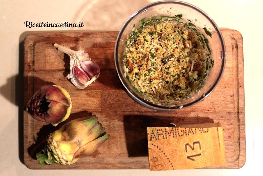 Carciofi ripieni al parmigiano croccante - Step 2 - Immagine 1