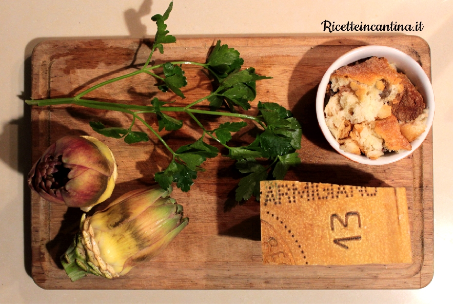 Carciofi ripieni al parmigiano croccante - Step 1 - Immagine 1