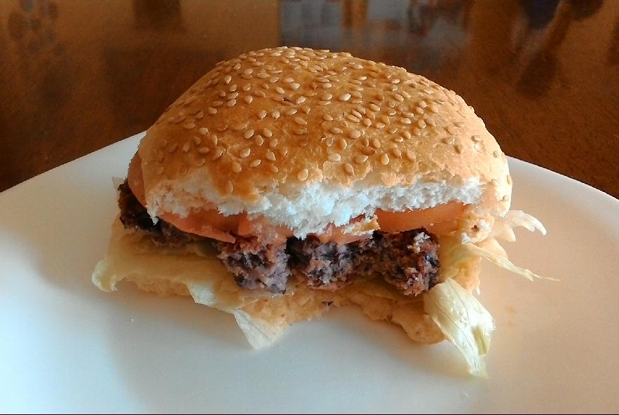 Hamburger di fagioli rossi - Step 6 - Immagine 1