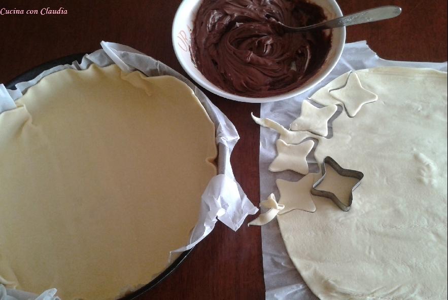 Torta di pasta sfoglia con nutella e mascarpone - Step 1 - Immagine 1