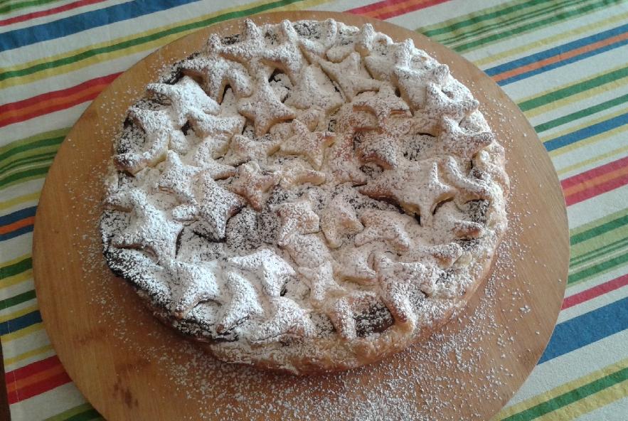 Torta di pasta sfoglia con nutella e mascarpone - Step 5 - Immagine 1