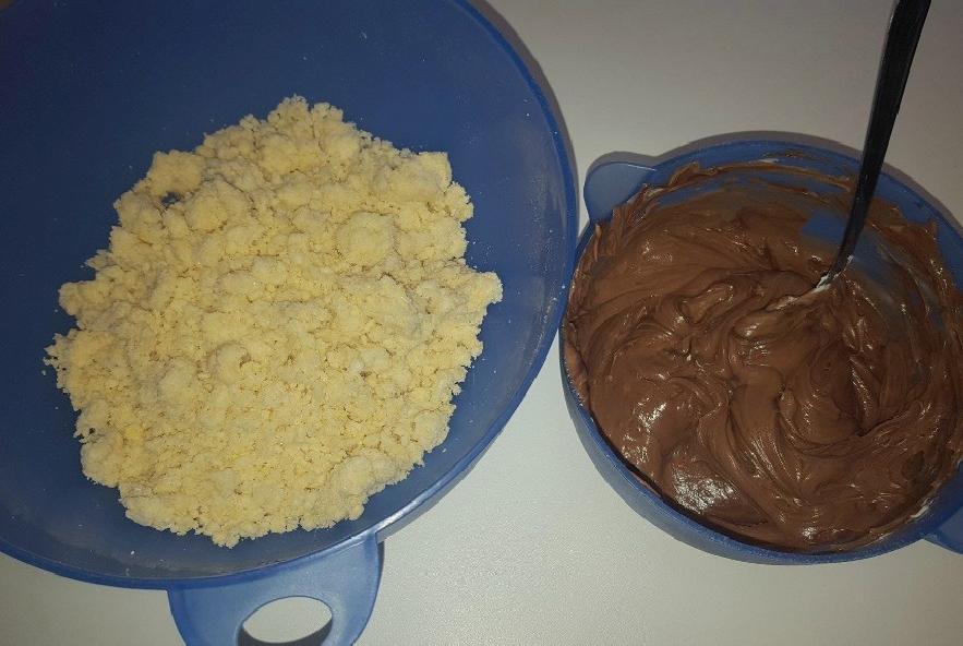 Torta sbriciolata alla nutella e mascarpone! - Step 2 - Immagine 1