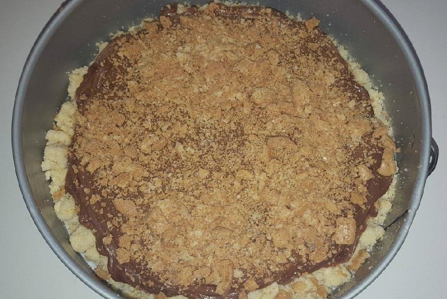 Torta sbriciolata alla nutella e mascarpone! - Step 3 - Immagine 1