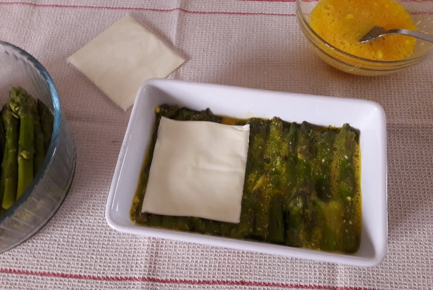 Tortino di asparagi - Step 4 - Immagine 1