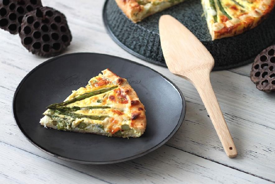Torta salata con asparagi e pecorino - Step 7 - Immagine 1