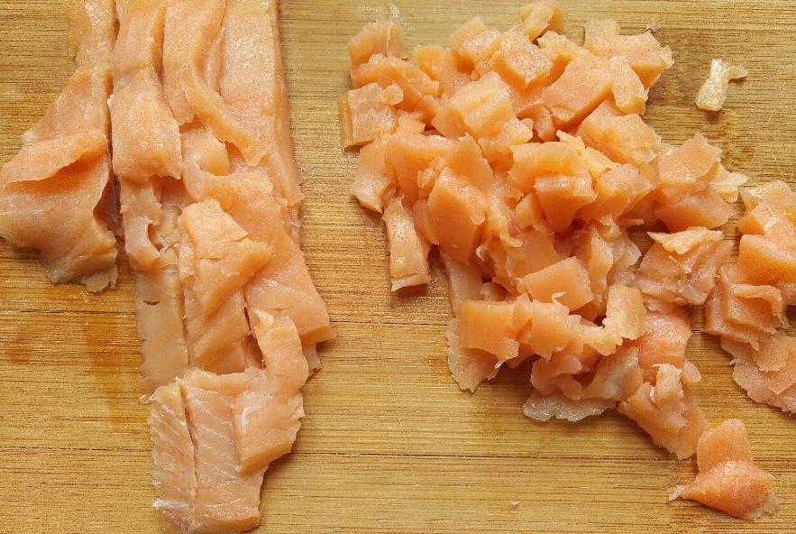 Tartare di salmone affumicato, finocchi e lime - Step 1 - Immagine 1