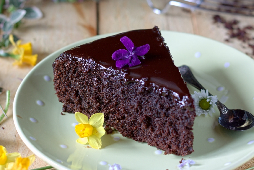Chocolate beetroot cake - torta cioccolato e barba