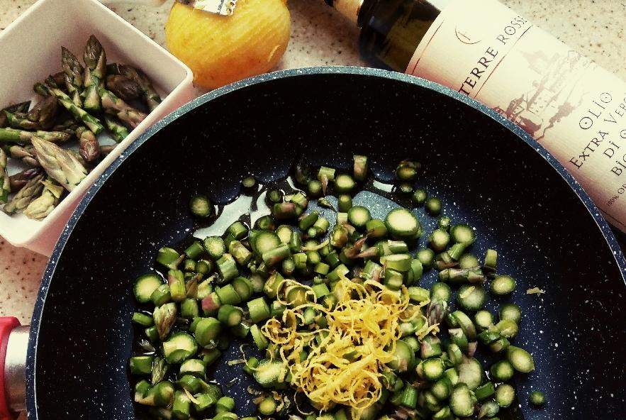 Spaghetti asparagi e limone - Step 1 - Immagine 1