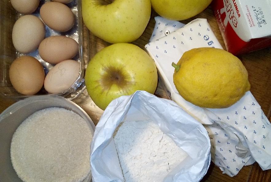 Torta di mele ricetta allan bay modificata - Step 1 - Immagine 1