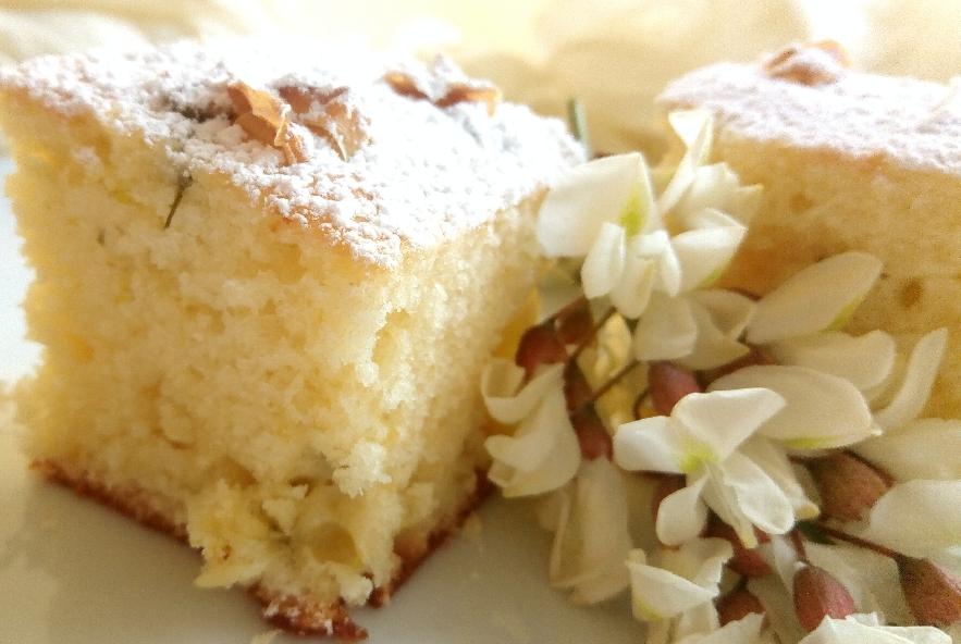Torta con cioccolato bianco e fiori d'acacia - Step 4 - Immagine 3