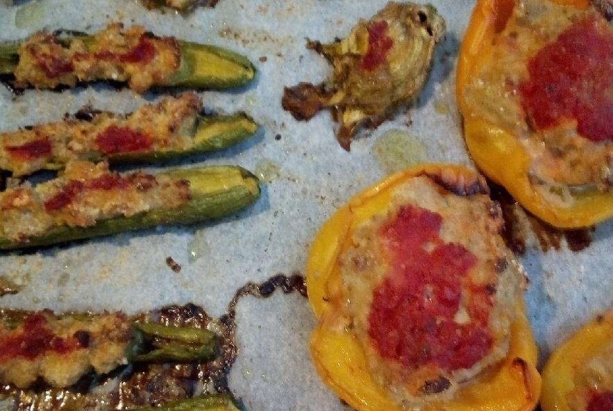 Verdure ripiene al forno - Step 4 - Immagine 1