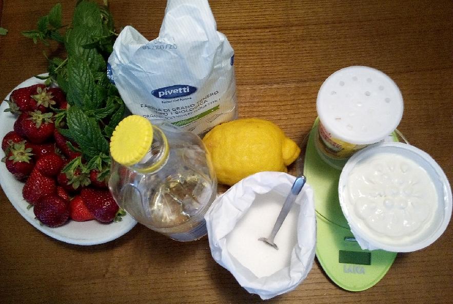 Tarte con crema di ricotta e fragole - Step 1 - Immagine 1