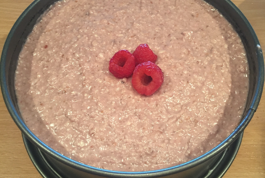 Torta raw vegan cacao e lamponi - Step 3 - Immagine 1