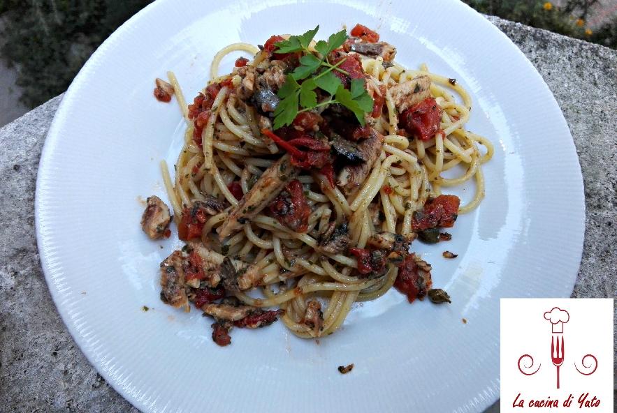 Spaghetti con sarde e polpa di pomodoro - Step 6 - Immagine 1