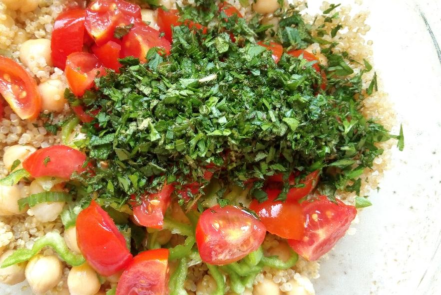 Insalata di quinoa e ceci - Step 4 - Immagine 1