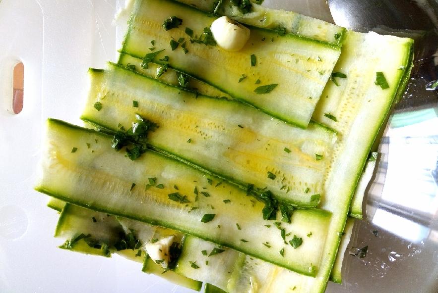 Pasta fredda con sgombro e zucchine marinate - Step 2 - Immagine 1