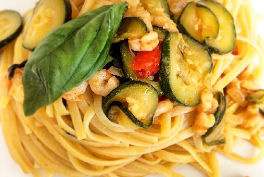 Linguine zucchine e gamberetti - Step 3 - Immagine 1