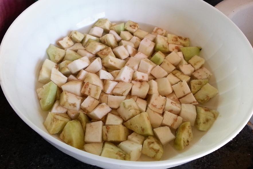 Spaccatelle fredde melanzane, mozzarella e olive - Step 1 - Immagine 2