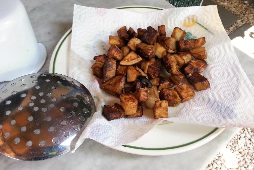 Spaccatelle fredde melanzane, mozzarella e olive - Step 2 - Immagine 3