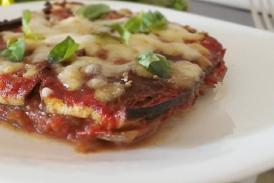 Parmigiana light di melanzane