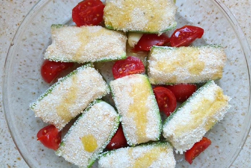 Zucchine ripiene di mozzarella - Step 4 - Immagine 1