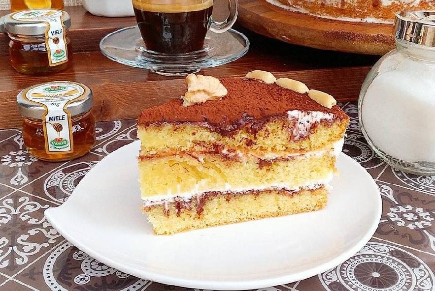 Naked cake con crema alla vaniglia e nutella - Step 10 - Immagine 1