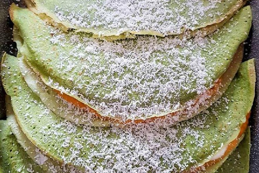Crepes agli spinaci ripiene di zucca e formaggio - Step 6 - Immagine 1