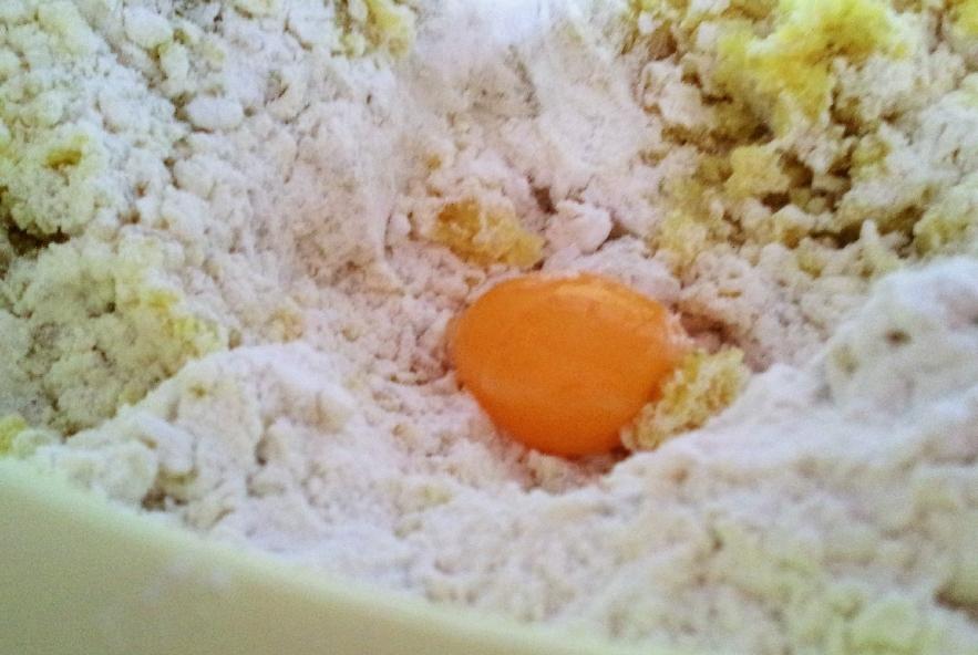 Gnocchi di patate rosse con crema di melanzane - Step 2 - Immagine 2