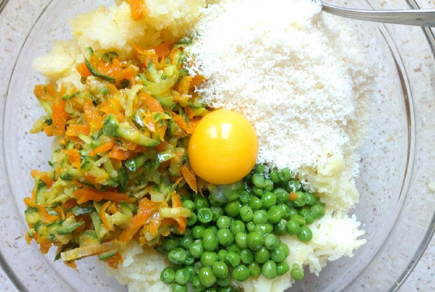 Crocchette di verdure al forno - Step 3 - Immagine 1