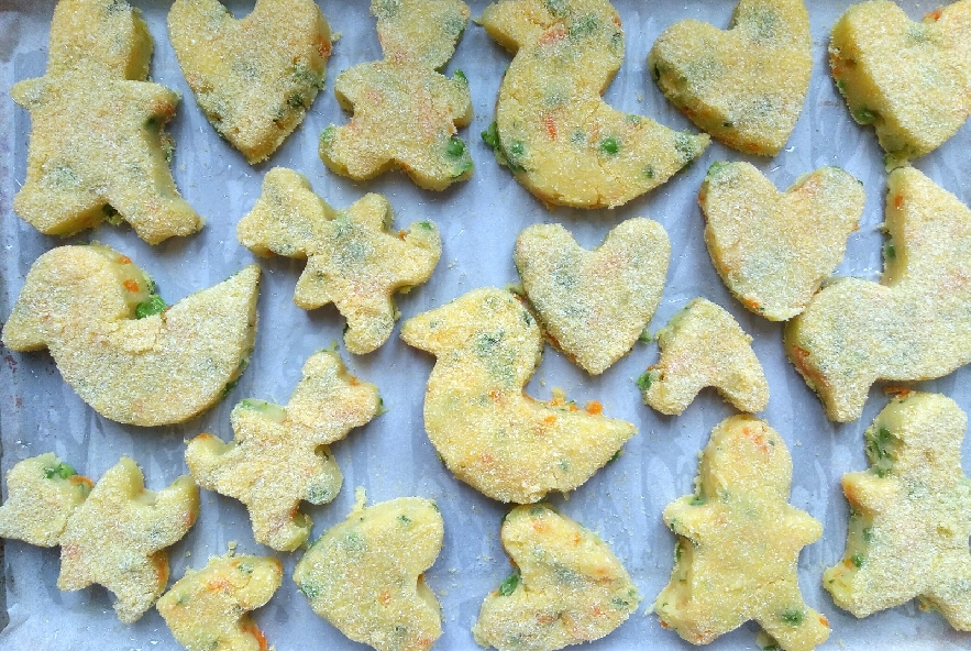 Crocchette di verdure al forno - Step 6 - Immagine 1